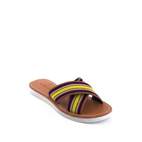 SATINEC COLOURFUL SANDAL – Boutique Online Fashion Clothing Store   Marshmellow