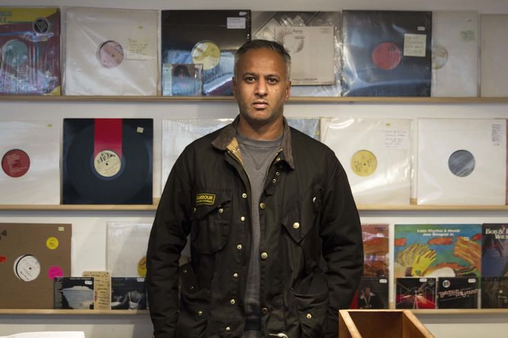 Zaf Chowdhry Chef Jackets Warmup Vinyl