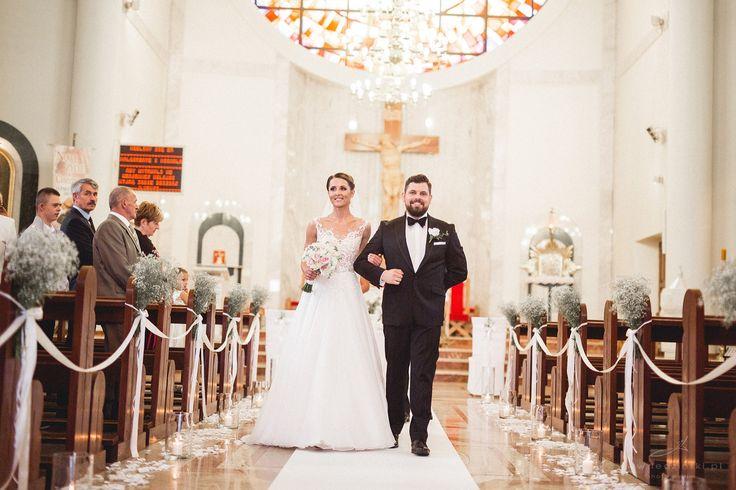 Bukiet Panny Młodej / dekoracja kościoła - www.edan-art.pl zdjęcia http://www.ledzinski.pl/