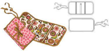 Jewelry wrap pattern!