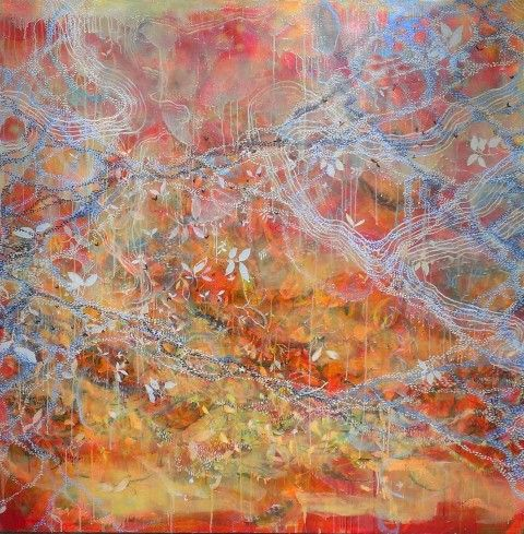 Manyung Gallery Group Ember  Fairbairn Autumn Falls To The Welcoming