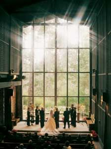 church in the forest weddings
