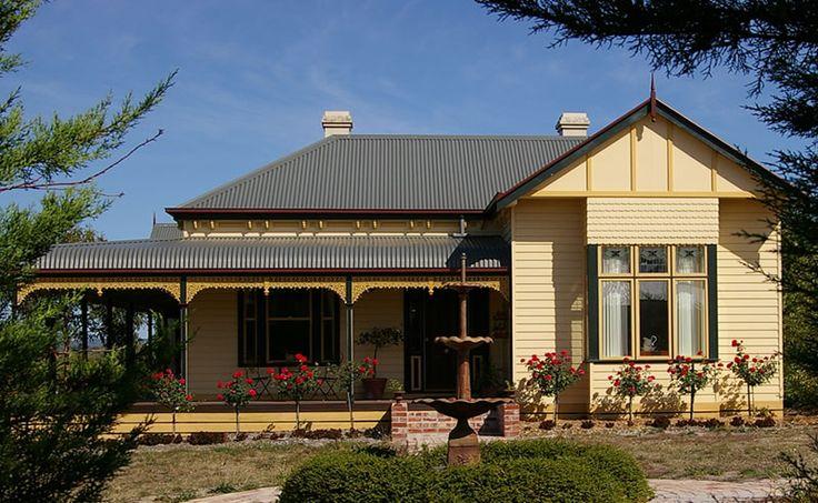 Fair Dinkum Federation, Mt Evelyn Vic Harkaway Homes. I Love it.