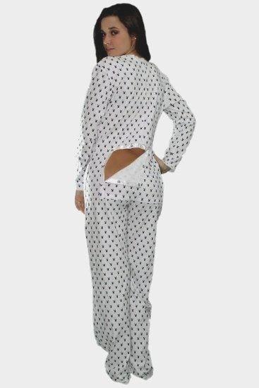 Womens Onesie Pajamas with Trap Door Elegant Amazon Playboy Sies Pajamas  Open Bottom Jammies Drop Seat 05a93a2a5