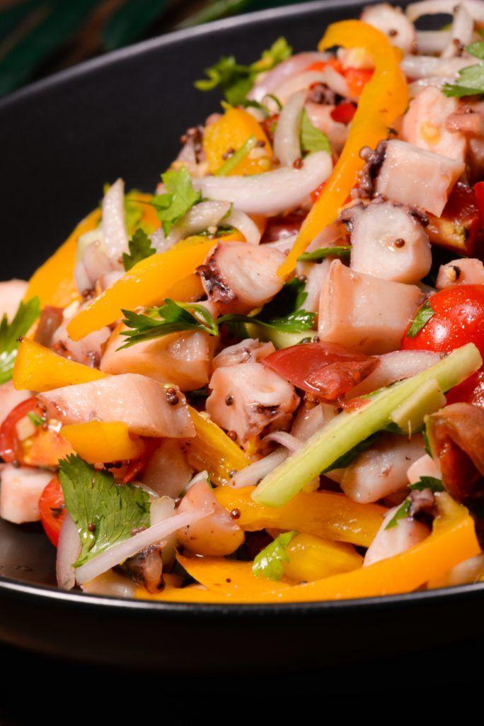 Mauritius Octopus Salad (Salde Ourite)