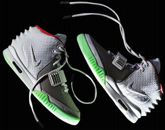 Nike Air Yeezy 2 – Wolf Grey + Black-Solar Red | Official Releases Set For June 2012