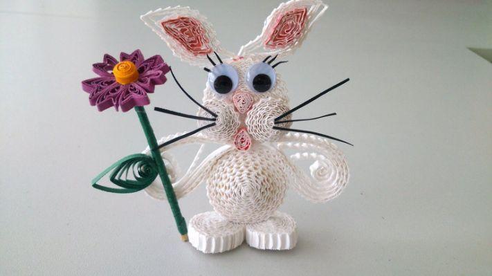 Papírvilág: quilling húsvéti üdvözlet