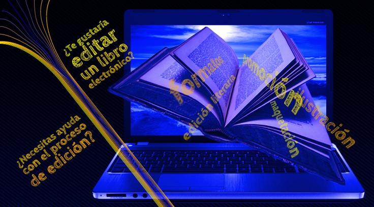Los libros también pueden celebrarse escribiéndolos o publicándolos  ¿Te gustaría editar un libro electrónico? ¿Necesitas ayuda con el proceso de edición?