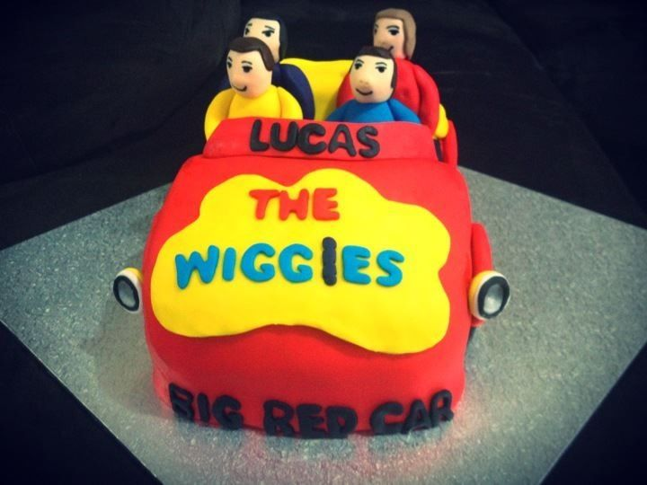 Wiggles cake!