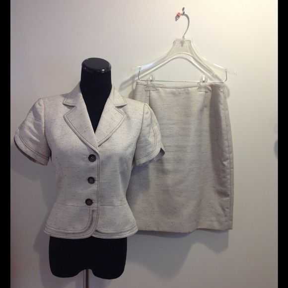 Tahari Arthur S. Levine Petite Suit This suit shows no signs of wear.  it is a 2 petite. Tahari Jackets & Coats