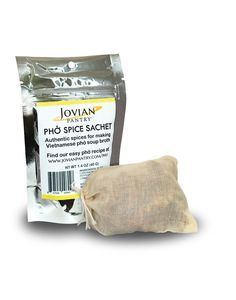 Jovian Pantry® Pho Spice Sachet is made with an authentic blend of premium whole spices that are critical to making a delicious pho broth. Learn how to make your own pho broth at www.jovianpantry.com/pho and you can enjoy it anytime you want!