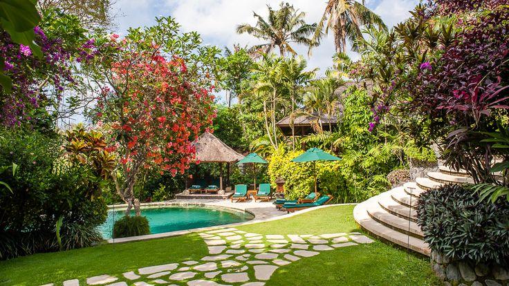 Villa Bougainvillea | 3 bedrooms villa | Canggu, Bali #swimmingpool #garden #exterior #villa