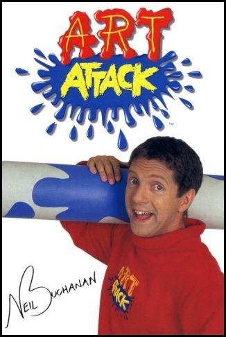 This is an Art Attack, this is an Art Attack... This IS Art Attack! What a show, what a guy! Used to watch it everyday while eating my bowl of cereal and milk, just before my school bus would arrive. Such good times <3 :)