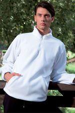 PAGAMENTO ANCHE ALLA CONSEGNA Maglia Uomo Felpa da Lavoro Cappuccio Pile Mezza Zip Abbigliamento Abiti