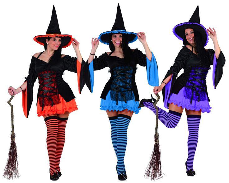 disfraz de bruja en colores witch parabruja