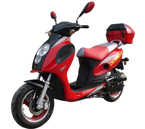 49cc scooters, 50cc scooters, 150cc scooters to 400cc Gas Scooters for sale , Street Legal Mopeds, Motorcycles, Go Karts, 4 Wheelers, Utility Vehicles, - 49cc Bahama | 50 Sporty Gas Motor Scooter | Gas Moped - FREE HOME DELIVERY ( MP - 3341 )