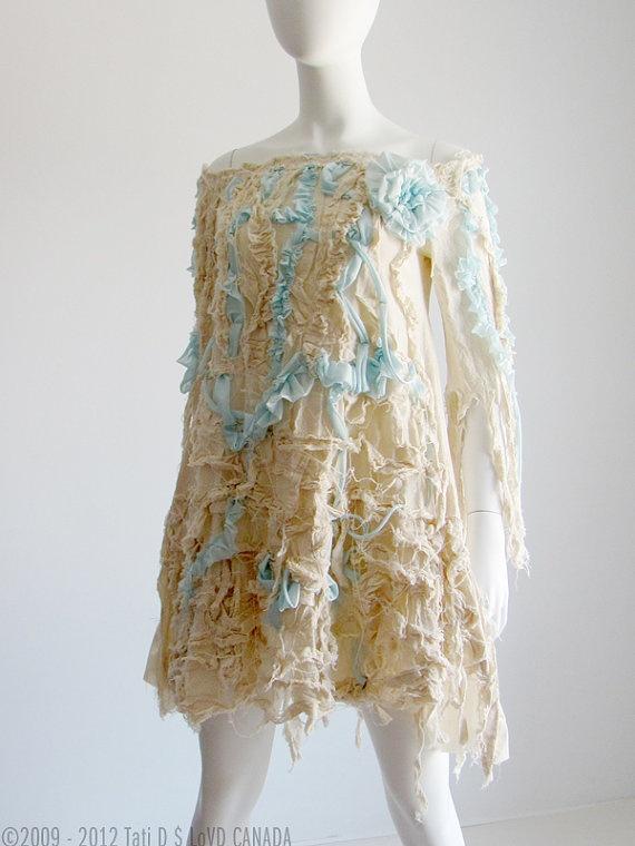 Fairy Wedding Dress Renaissance Wedding by RenaissanceClothing, $375.00