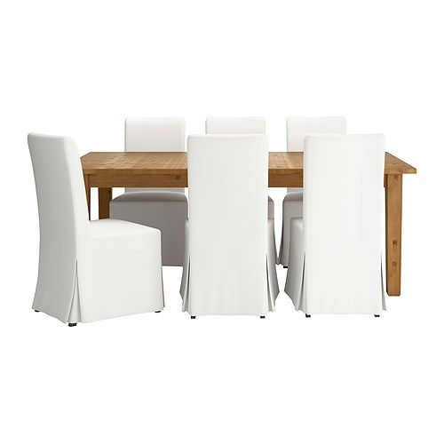 table and 6 chairs brown black blekinge white dining sets ikea