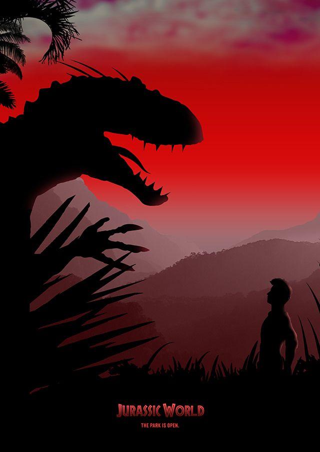 Jurassic World Poster Design by Jason W Stanley via www.CreativeJUUS.com