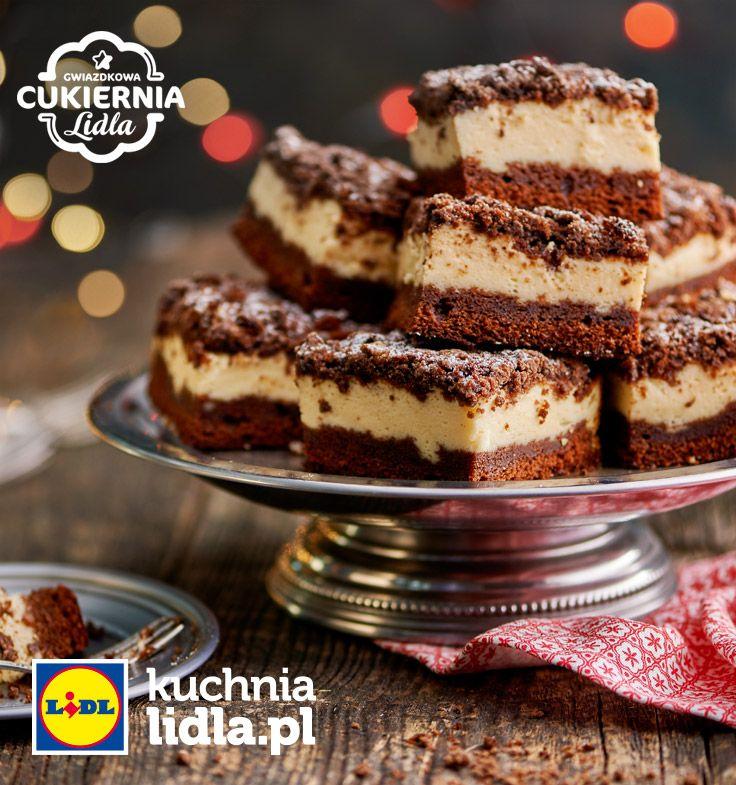 Sernik piernikowy. Kuchnia Lidla - Lidl Polska #lidl #pawel #cheescake #christmas