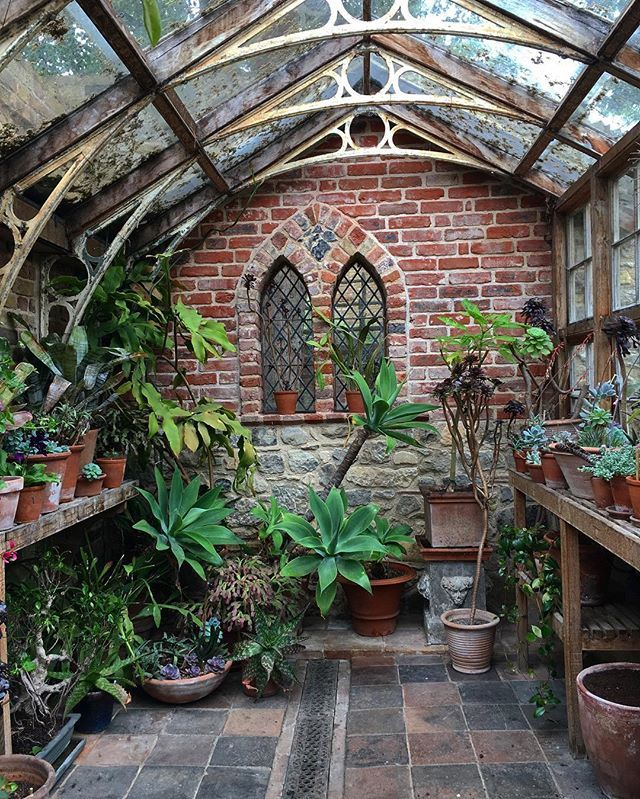 The succulents conservatory. #RestorationHouse #EnglishSummer