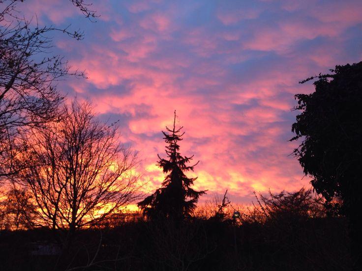 Divine sky in Aalborg
