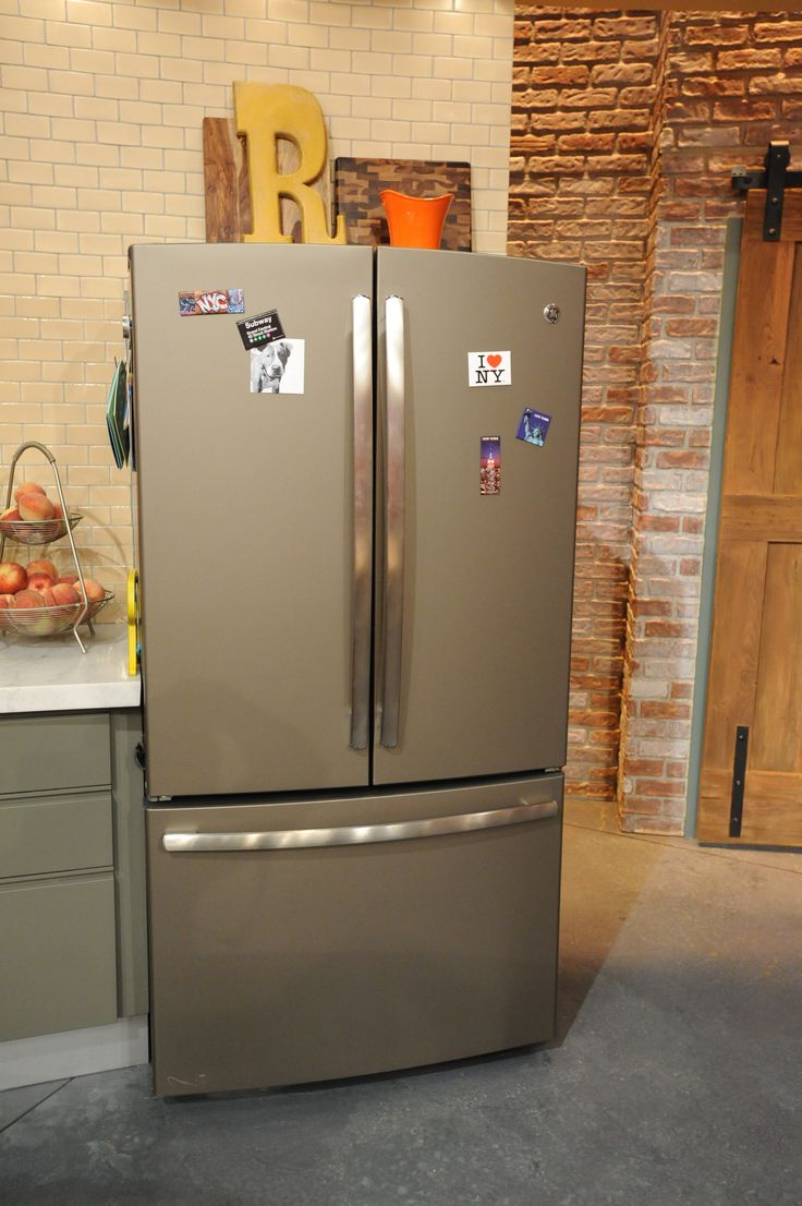 French door refrigerator, Slate and Appliances on Pinterest