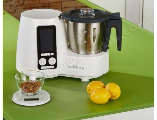 Robot culinaire chauffant SIMEO QC360 Delimix super cook