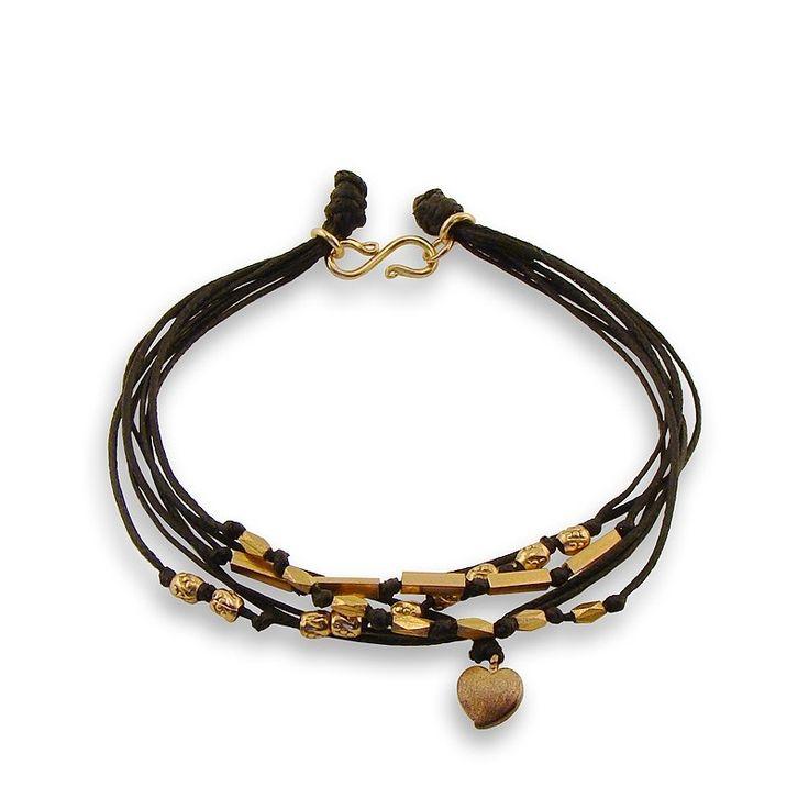 Rose Gold 7 Strand Bracelet - Adorable Adornments