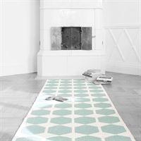 Anna turkis teppe - 70x80 cm - Brita Sweden