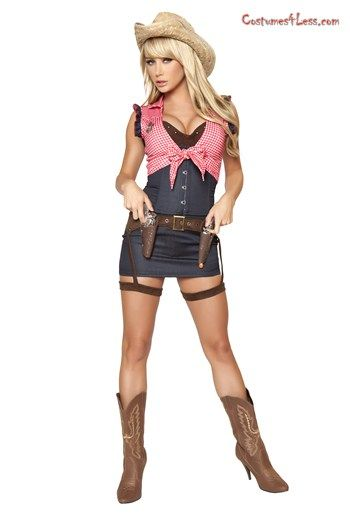 7pc Cowgirl Cutie Costume  sc 1 st  Pinterest & 9 best Cowgirls and boys images on Pinterest   Halloween prop ...