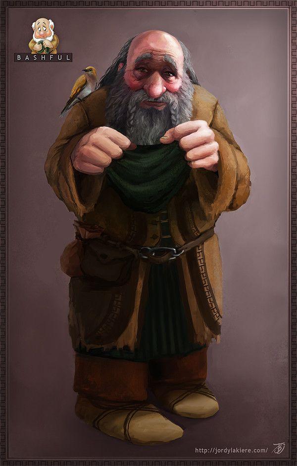 If Disney's 7 Dwarves Were Real Men - Bashful