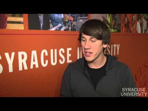 Foursquare co-founder Dennis Crowley '98 on Newhouse