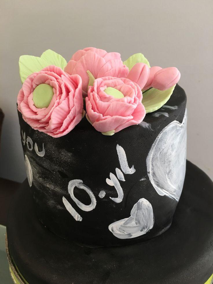 10. Yıl pastası