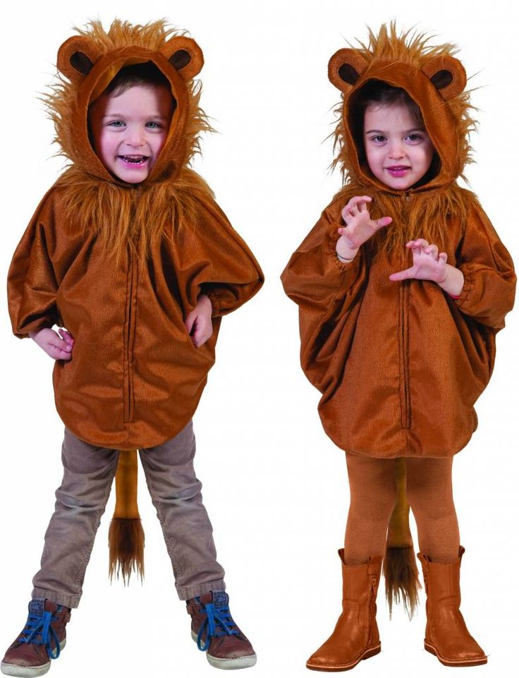 Baby leeuwen capeje Robbe voor carnaval - e-Carnavalskleding
