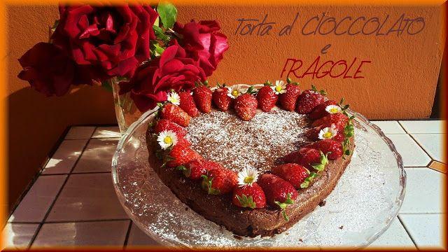 Cortesie In Cucina: Torta al cioccolato e fragole
