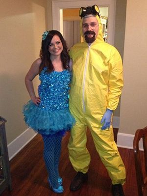 15 fun and unique diy halloween couples costume ideas gurlcom - Halloween Costume Breaking Bad
