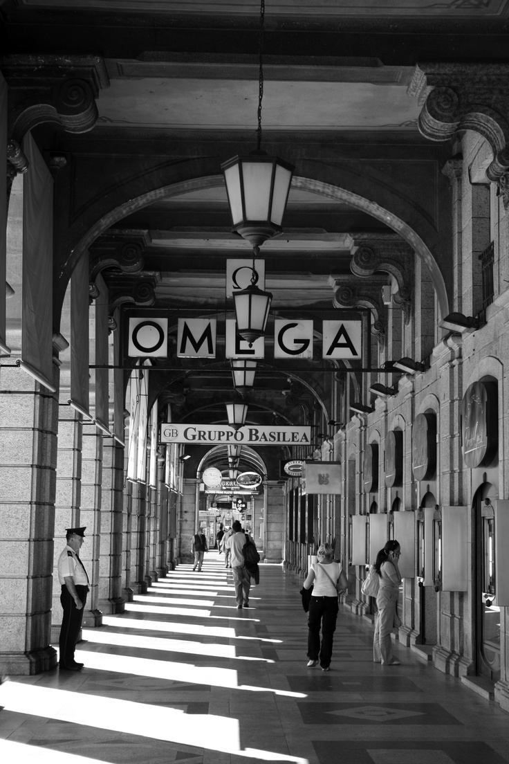 Cagliari, Sardinia Italy. These shops overlook the port, and are below my grandparents' apartment