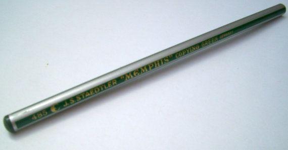 Staedtler Copying Pencil. Memphis 485. Mid Century by JirjiMirji, €27.60