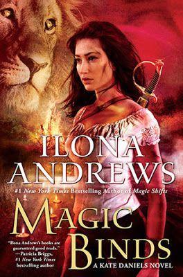 Le plaisir de lire: Ilona Andrews - Magic Binds (Kate Daniels #9) eBoo...