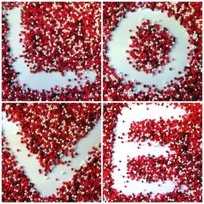 Sprinkles <3Diy Ideas, Valentine Day Ideas, Heart, Valentine Day Gift, Sprinkles, Gift Ideas, Quote, Candies, Valentine Gift