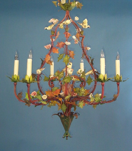 French Bird Chandelier For A Little S Room