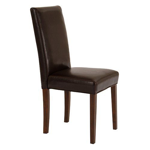 4 Brown Leather Parson Dining Chairs City Of Toronto GTA Image 1
