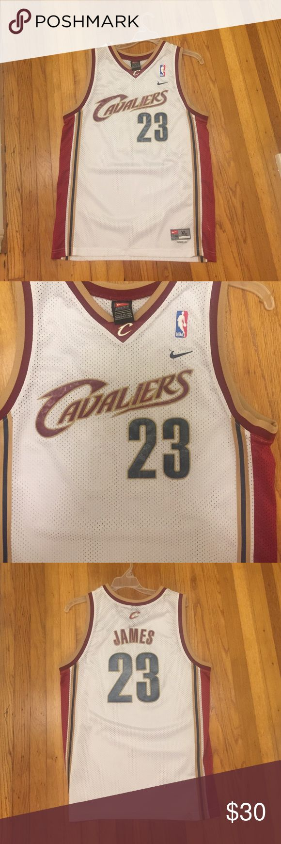 Lebron James rookie year jersey youth XL Vintage Lebron  James jersey in used condition from his rookie year in a size youth XL Nike Shirts & Tops Tank Tops