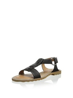 64% OFF One of 2 Women's Flat Sandal (Ranch Black)