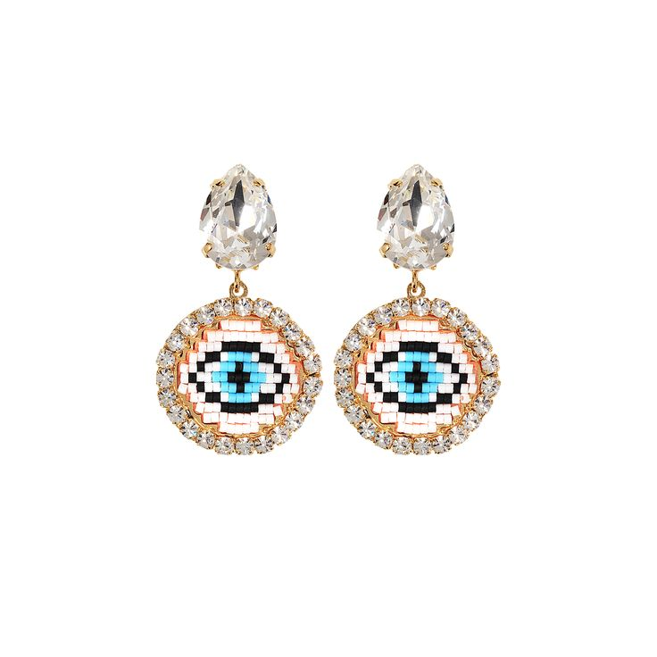 BUCKET LIST #17 (FR) Les produits à se procurer d'urgence - Attention, je t'ai à l'oeil (EN) Products to shop before the sold out - Be careful, I've got my eye on you // 140€ - Small eye earrings – Shourouk