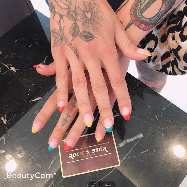 New The 10 Best Nail Ideas Today With Pictures Lovely Nails For Your July How Do You Think Find Us At 1100 State Rock Star Nails Fun Nails Nail Spa
