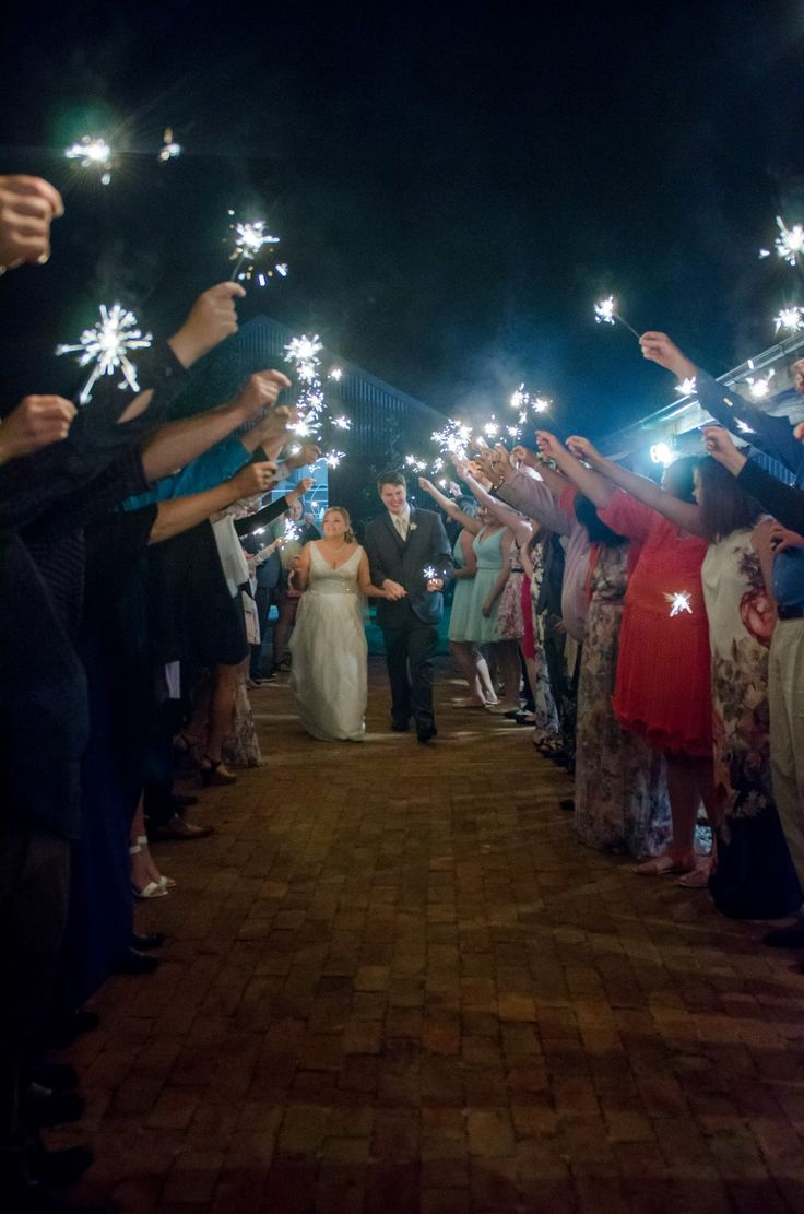 Candid Photos of a Lifetime - sparklers and a send off...  congrats to this couple.  www.candidphotosofalifetime.com.au