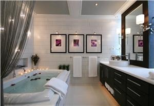 Contemporary (Modern, Retro) Bathroom by Douglas Stratton...this is dreamy & totally up my alley of happiness.