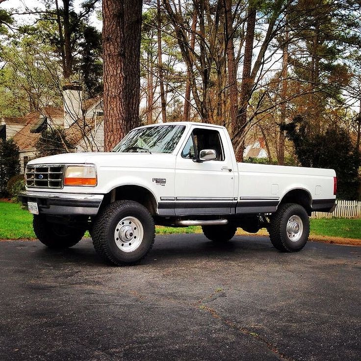 86 Best Ford F250 F350 4X4 Regular Cab Powerstrokes Images